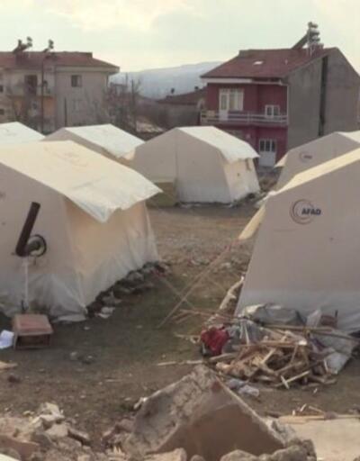 Depremin ardından Elazığ