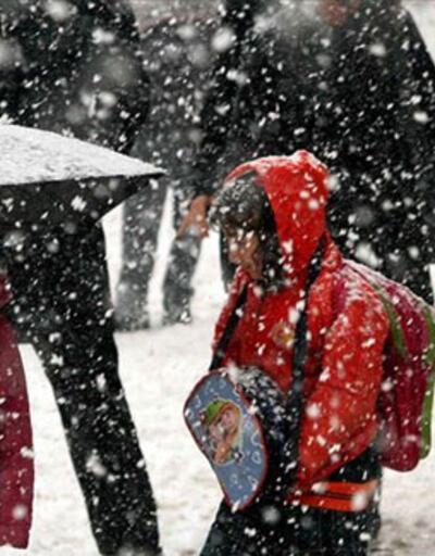 Son dakika...  Birçok ilde eğitime kar engeli