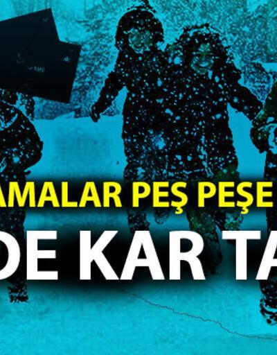 Trabzon ve Rize'de okullar tatil mi? Son dakika kar tatili açıklaması…