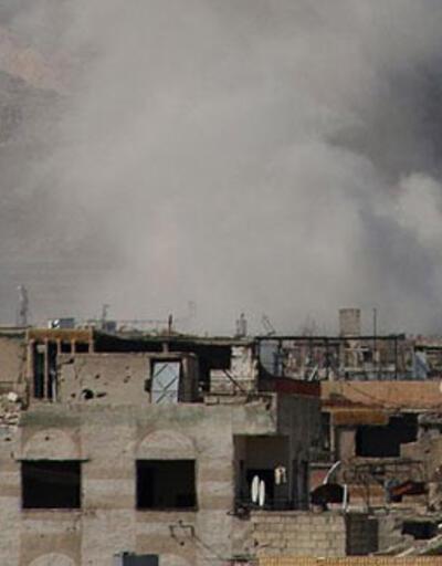 Esad rejimi ve Rusya'ya ait uçaklar sivilleri vurdu