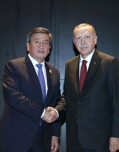 Cumhurbaşkanı Erdoğan, Ceenbekov ile telefonda görüştü