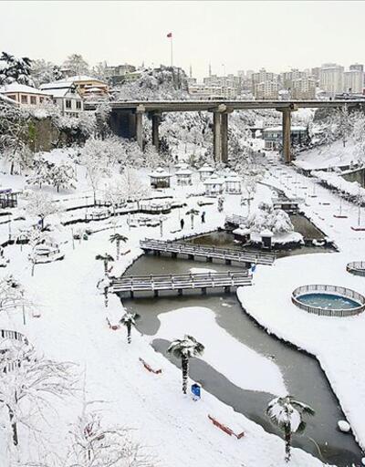 Son dakika... Trabzon'da eğitime kar engeli