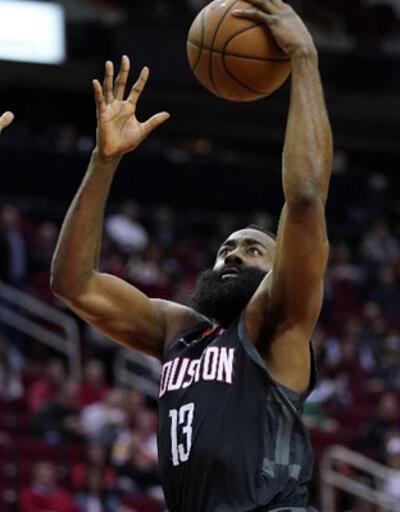 Harden 42 sayı attı, Rockets kazandı