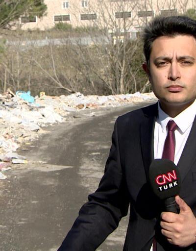 Başakşehir'de ormanlık alana hafriyat yığdılar