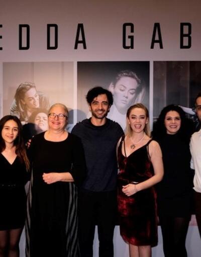Hedda Gabler'ın galasına ünlü akını