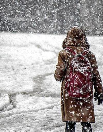 Eğitime kar engeli: Pek çok ilde okullar tatil edildi!