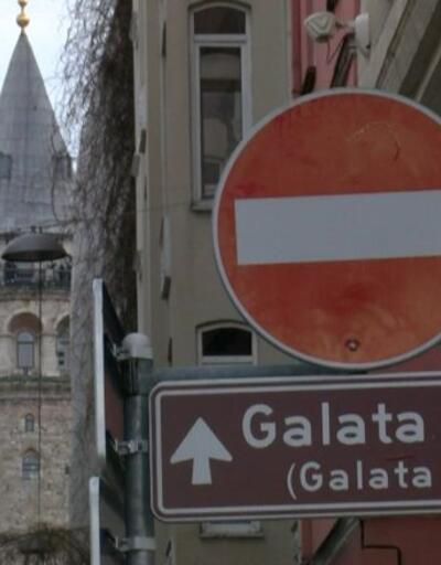 """Tarihi kuleye """"yazı"""" ayıbı"""