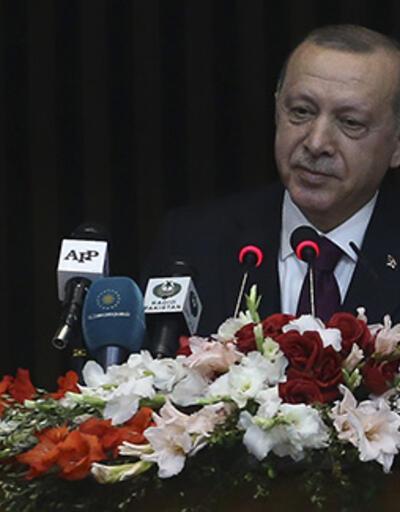 Cumhurbaşkanı Erdoğan'dan Pakistan'da önemli açıklamalar