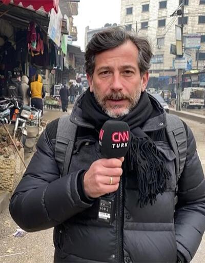 CNN TÜRK İdlib kent merkezindeki son durumu görüntüledi
