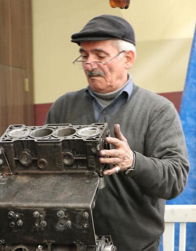 Bakanlık kare pistonlu araç motoru tasarlayan usta ile temasa geçti
