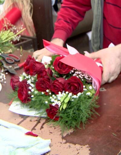 Çiçekçilere sipariş yağdı