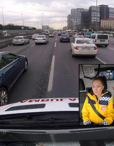 Ambulansa nasıl yol vermeliyiz? Şoförü anlattı