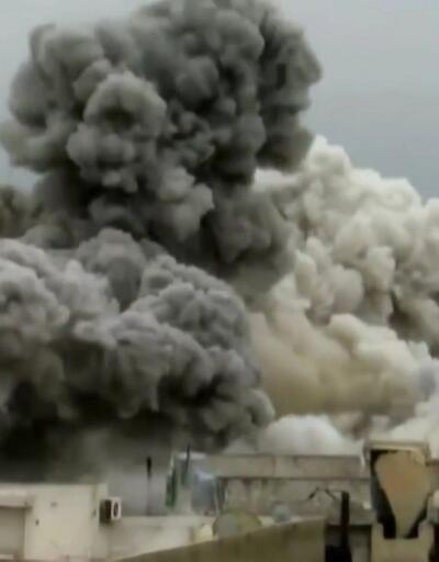 Halep'te sıcak çatışma