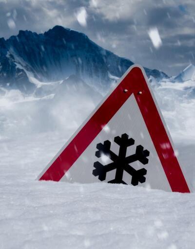 Kar ve çığa dikkat!