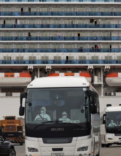 Japonya'daki karantina gemisinde 99 yeni vaka
