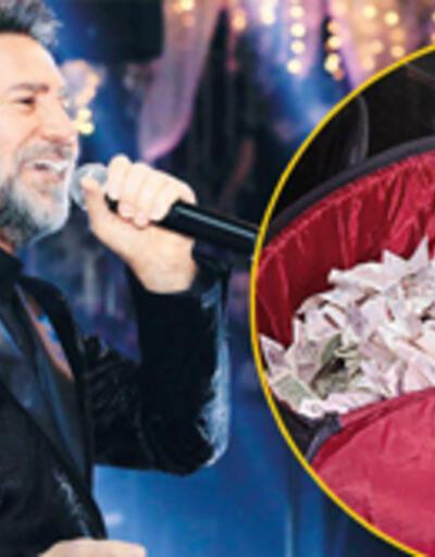 Sahnesine para yağdı