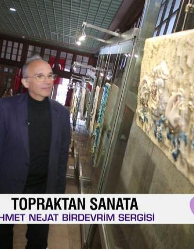 Seramik sanatçısı Ahmet Nejat Birdevrim 45. kişisel sergisinden detayları Afiş'te paylaştı