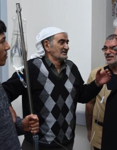 Siverek Belediye Başkanı Şeyhmus Aydın hastaları ziyaret etti