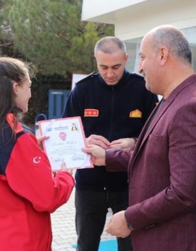 Kırıkkale'de gönüllü itfaiyeci ve zabıtalar yetiştiriliyor