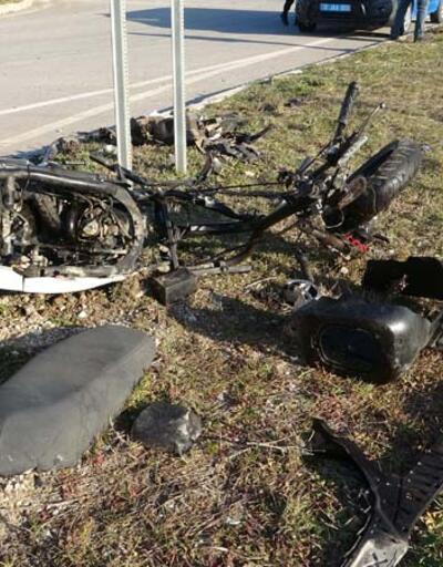Kazadan geriye bu görüntüler kaldı