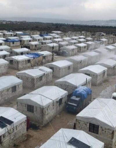 İHH sınırda 200 briket ev inşa etti