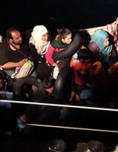 Balıkesir'de 47 düzensiz göçmen yakalandı
