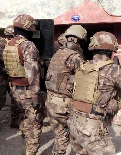 Gaziantep'te 670 polisle uyuşturucu operasyonu: 29 gözaltı