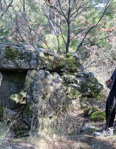 Ormanda 1800 yıllık lahit bulundu