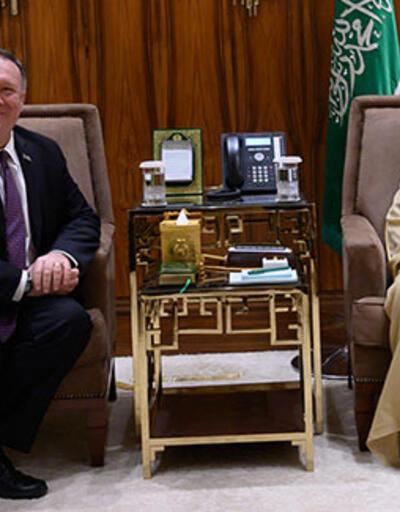 Pompeo, Suudi Arabistan Kralı ve Veliaht Prensi ile görüştü