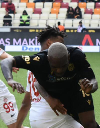 Yeni Malatyaspor - Antalyaspor: 1-2