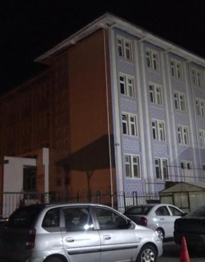 Yurtta kalan 40 öğrenci tahliye edildi