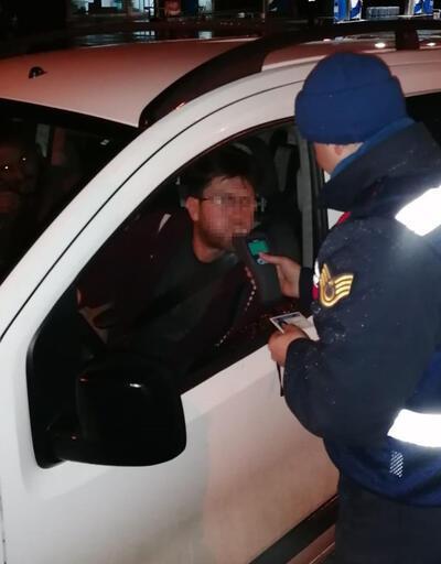 105 sürücüye 102 bin lira para cezası