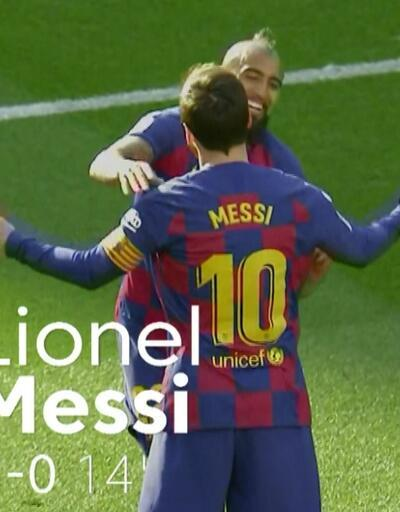 Lionel Messi 4 golle coştu