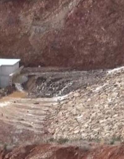 Barajdaki su tahliye ediliyor