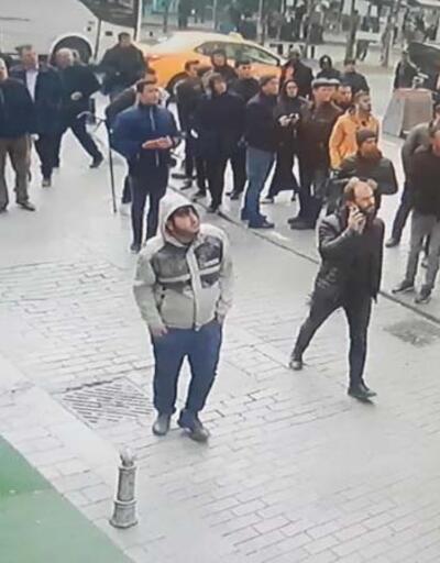 Silahlı gaspçıları vatandaşlar yakaladı