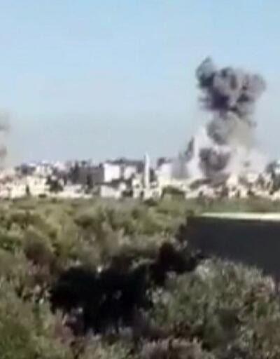 İdlib'de okullar ve hastaneler hedef alınıyor