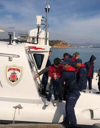 Didim'de 58 göçmen kaçak yakalandı
