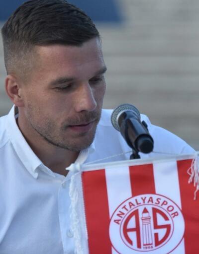 Lukas Podolski: Buraya tatile gelmedim