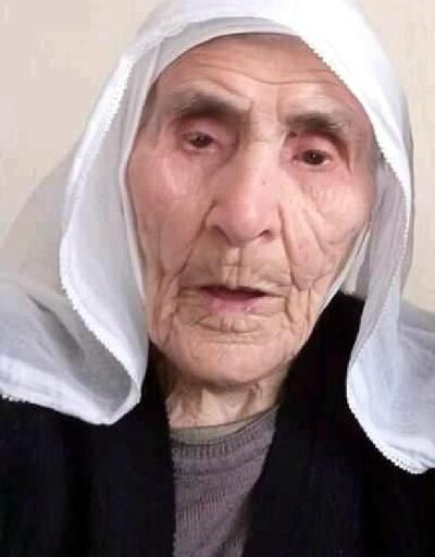 99 yaşında ölen kadın toprağa verildi