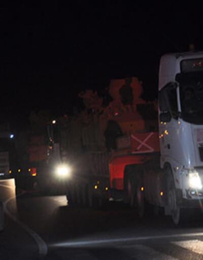 Suriye'ye zırhlı araç sevkiyatı