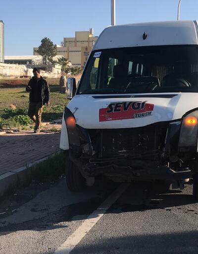 İşçi servisi kaza yaptı: 7 yaralı