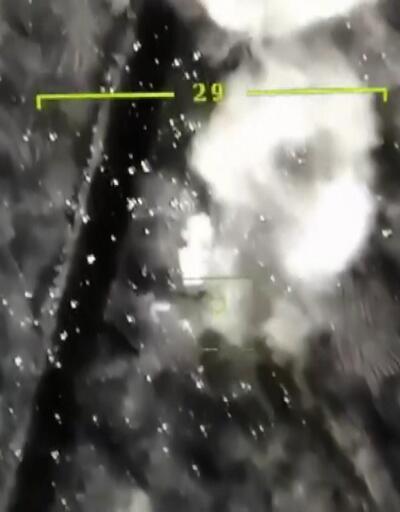 İdlib operasyonunun yeni görüntüleri! Rejim unsurları böyle vuruldu