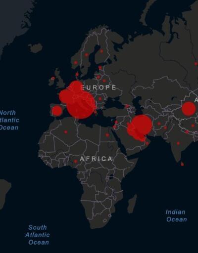 Koronavirüs salgınında ülke ülke son durum ne?