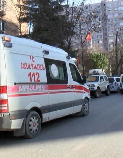 Ataköy'de 8'inci kattan düşen kişi hayatını kaybetti