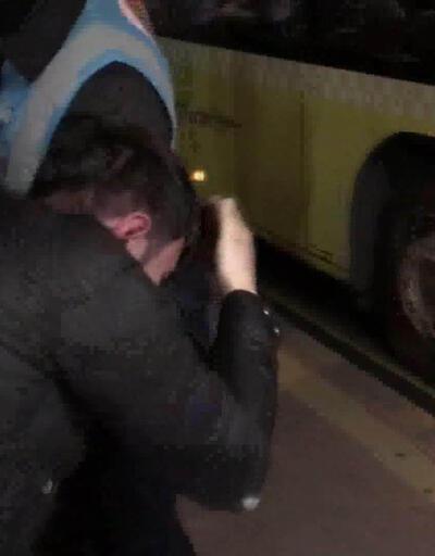 Metrobüste taciz iddiasına dayaklı tepki