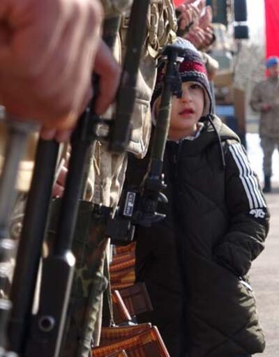 Kahraman komandolar Suriye'ye uğurlandı