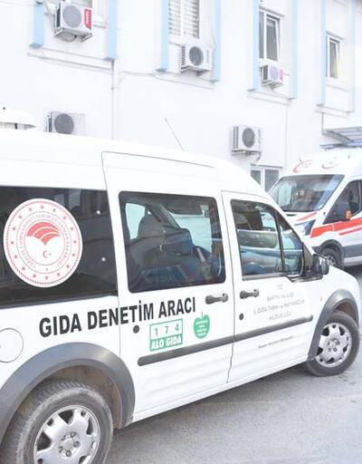 Gıda zehirlenmesi şüphesiyle 107 öğrenci hastaneye kaldırıldı