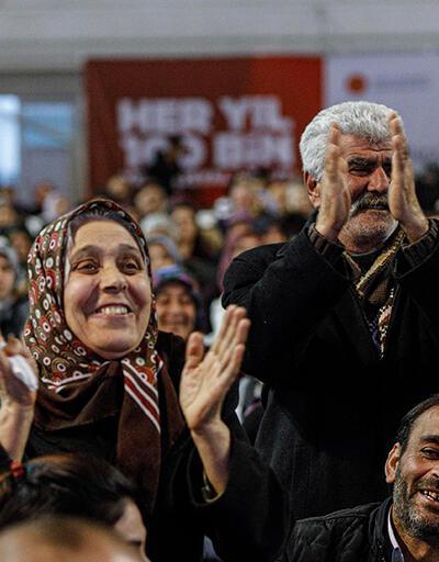 Ankara'da 2 bin 300 konut için kura çekildi