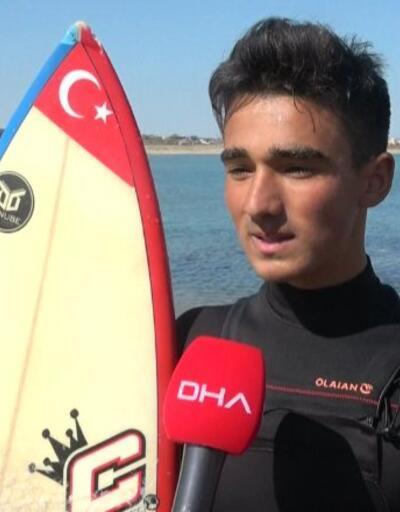 17 yaşında, Türkiye üçüncüsü oldu