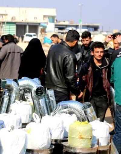 Savaş mağdurlarına yardımlar sürüyor